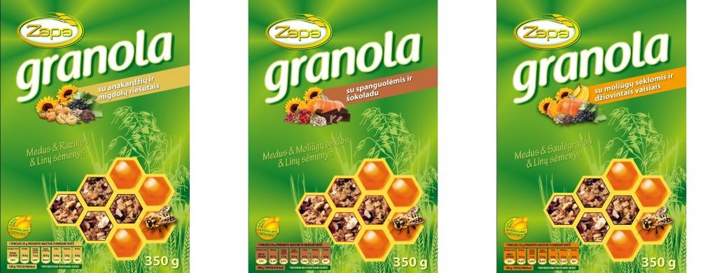 Granola dezute